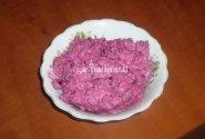Burokėlių ir agurkų salotos