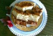 Minkštas pyragas su obuoliais