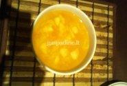 Šviežių kopūstų sriuba