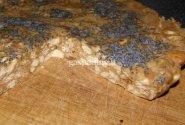 Nekeptas pyragas su riešutine chalva