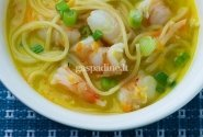 Krevečių sriuba