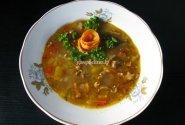 Oranžinė sriuba su džiovintais šaltalankiais