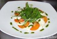 Itališkos salotos Capresse