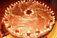 Migdolų tortas su kavos kremu