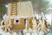 """Kalėdinis namelis """"Zuikių Kalėdos"""""""