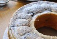 Citrininis pyragas su mėlynėmis