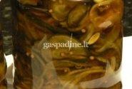 Konservuoti agurkai (žento kūryba,daniškas receptas)