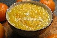Cukinijos ir apelsinų marmeladas