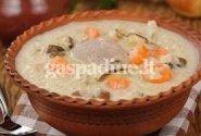 Antienos sriuba su perlinėmis kruopomis