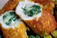 Vištienos ritinėliai su mocarela sūriu