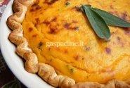 Skrudinto moliūgo pyragas-tarta