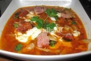 Guliašinė sriuba su vištiena