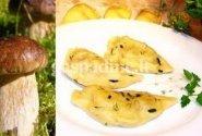 Koldūnai su bulvių ir baravyku įdaru