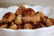 Vištienos maltinukai su parmezano sūriu ir Dižono garstyčiomis