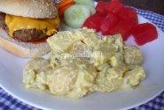 Bulvių salotos su salierais ir kiaušiniais