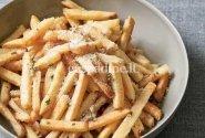 Orkaitėje keptos bulvytės su rozmarinu ir Pecorino sūriu
