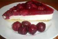 Gaivus varškės pyragas su vyšniomis