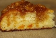 Pyragas su abrikosų uogiene