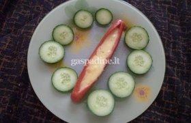 Dešrelės su sūriu
