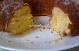 Purus citrininis pyragas