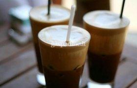 Šaltos kavos gėrimas