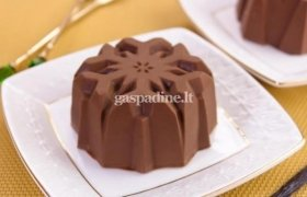 Šokoladinis desertas