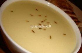 Kreminė vištienos ir bulvių sriuba