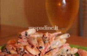 Greitai paruošiamos krevetės