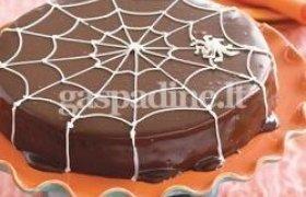 """""""Voratinklis"""" - torto papuošimas"""