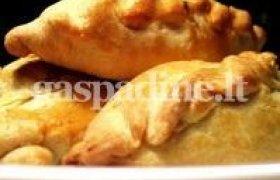 Kibinų receptas