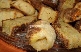 Obuolių pyragas su luobele