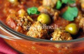 Anira: Jautienos kukuliai su alyvuogėmis ir pomidorais