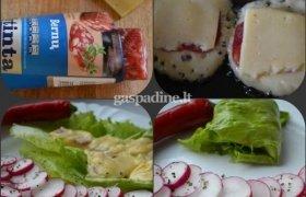 Sūrio kepsniukai su Bernų vytinta dešra
