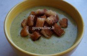 Trinta brokolių sriuba