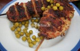 Maltos vištienos kebabas