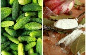 Saldūs marinuoti agurkai