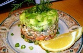Avokadų salotos su žele