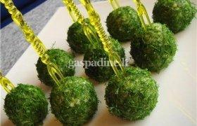 Čederio sūrio kamuoliukai