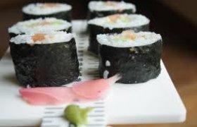 Suši gaminimas