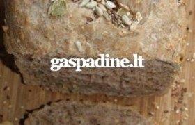 Duonelė su graikiniais riešutais