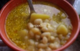 Vegetariška pupelių sriuba