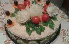 Vilkžuvės užkandinis tortas