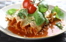 Itališki vamzdeliai su mėsa