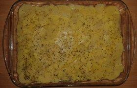 Bulvių ir moliūgo užkepas