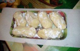 Virtų bulvių cepelinai su varške