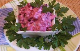Burokėlių mišrainė su majonezu