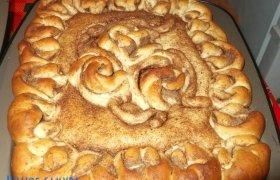 Varškės - cinamono vasaros pyragas
