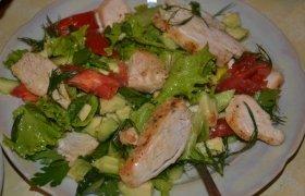 Gaivios vištienos salotos