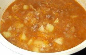 Tiršta raugintų kopūstų sriuba