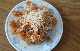 Makaronai su sūriu ir salieru